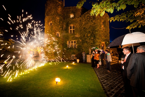 Fireworks at Walton Castle in Clevedon - Sam Gibson Wedding Photography