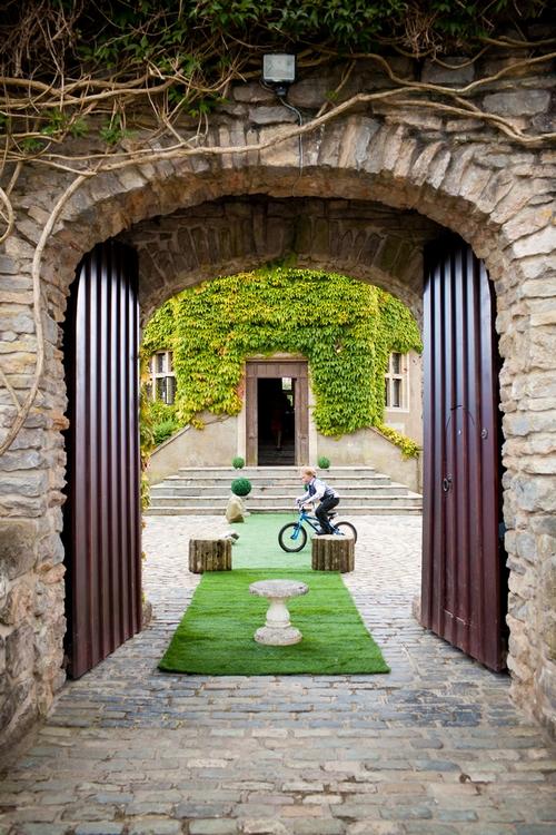 Gates of Walton Castle - Sam Gibson Wedding Photography