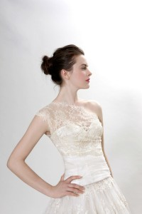 Picture of Detail on Lauren Wedding Dress - Langner Couture Berlino 2012 Collection