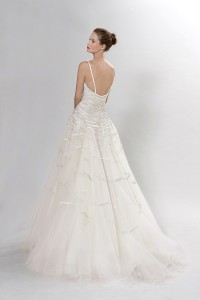 Picture of Back of Pergolesi Wedding Dress - Langner Couture Berlino 2012 Collection