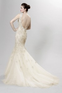 Picture of Back of Purcell Wedding Dress - Langner Couture Berlino 2012 Collection