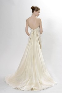 Picture of Back of Scarlatti Wedding Dress - Langner Couture Berlino 2012 Collection