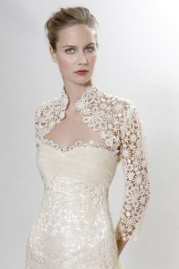 Picture of Detail on Scarlatti Wedding Dress - Langner Couture Berlino 2012 Collection