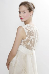 Picture of Detail on Sibelius Wedding Dress - Langner Couture Berlino 2012 Collection