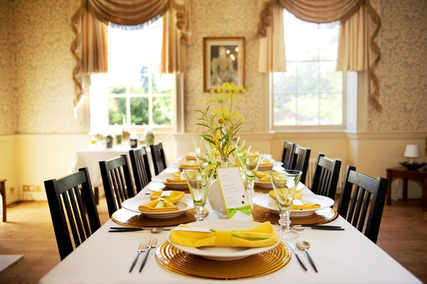yellow and lime green themed table - Good Day Sunshine Bridal Shoot
