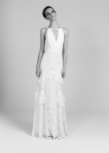 Picture of Long Showring Wedding Dress - Temperley London 2011/12 Collection