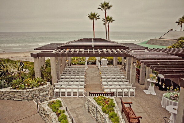 Beach wedding Del Mar, California - Picture by Captured by Aimee