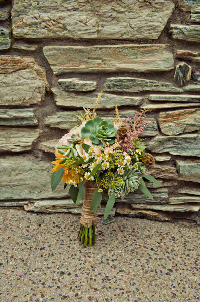 Bridal bouquet - Picture by Captured by Aimee