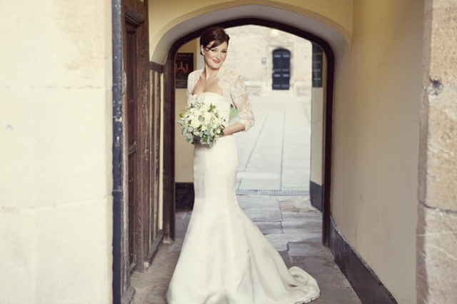 Bride holding bouquet - Picture by Laura McCluskey Photography