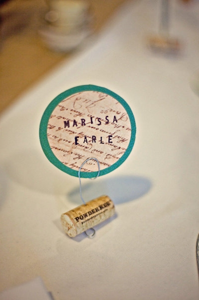 Wedding name place setting - Picture by Captured by Aimee