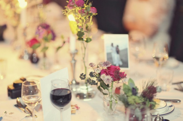 Wedding table display - Picture by Laura McCluskey Photography
