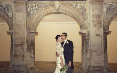 A Candlelit Winter Wedding at Magdalene College
