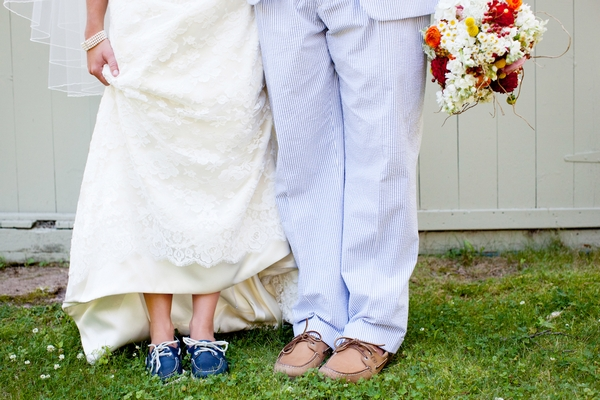 Bride and groom's legs - Picture by Laura Ivanova Photography