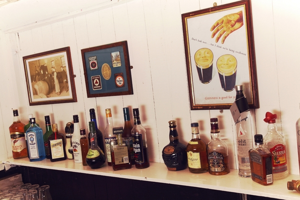 Bottles of spirits - Picture by Ian Shoots Weddings