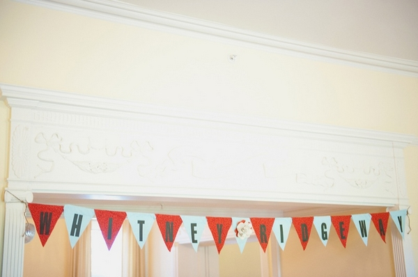 'Whitney Ridgeway' bunting - Picture by Rojo Foto Design