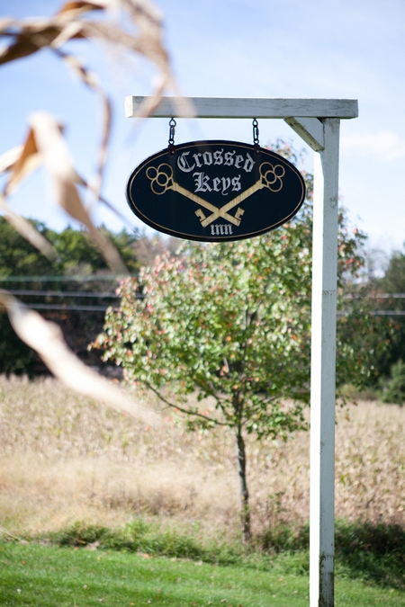 Crossed Keys Inn sign - Picture by Levi Stolove Photography