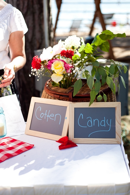 Cotton candy chalkboard sign - Picture by Laura Ivanova Photography
