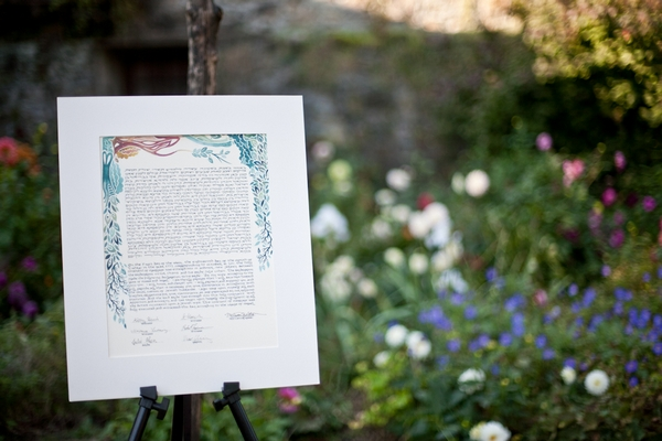 Homemade marriage licence - Picture by Levi Stolove Photography