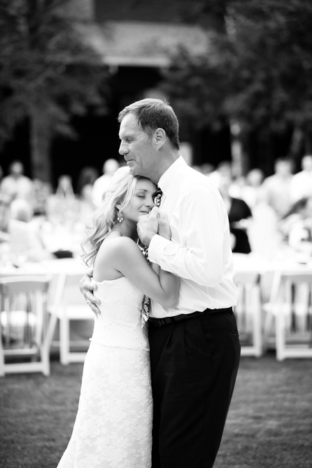 Bride dancing with father at wedding - Picture by Laura Ivanova Photography
