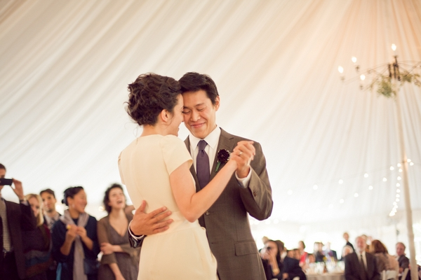 Bride and groom's first dance - Picture by Levi Stolove Photography