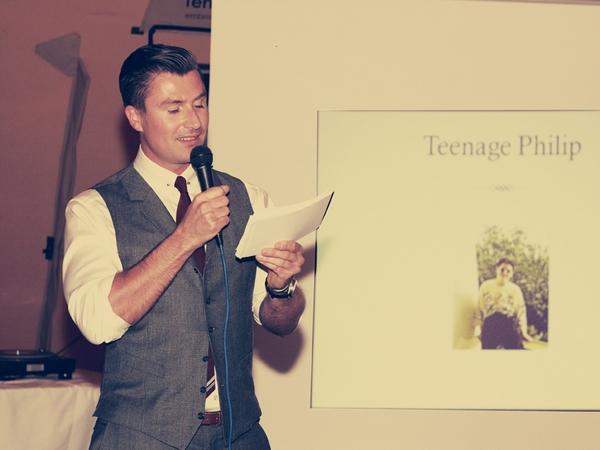 Best man speech - Picture by Ian Shoots Weddings