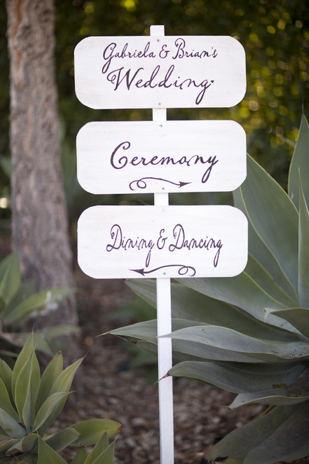 Wedding sign - Picture by Allyson Magda Photography