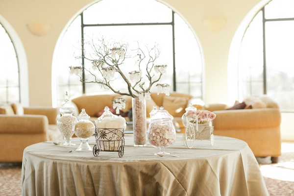 Wedding sweetie table - Picture by Allyson Magda Photography