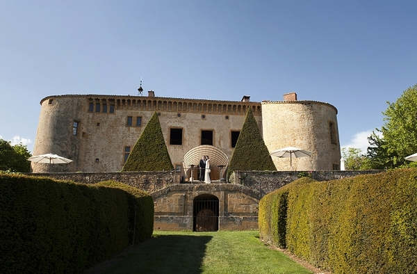 Chateau de Bagnols in France - Picture by Gill Maheu Photography