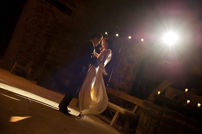 Wedding first dance - Picture by Gill Maheu Photography