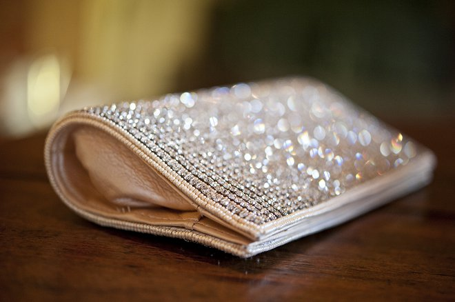 Sparkly clutch bag - Picture by Gill Maheu Photography