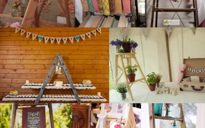 Wedding Ladder Decor Ideas