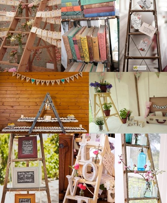 Wedding Ladder Decor Ideas