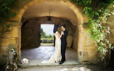 A Glamorous Wedding in a Beautiful French Chateau
