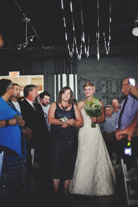 Bride entering wedding ceremony - Picture by Josh Dookhie Photography
