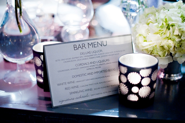 The London Hotel in California bar menu - Picture by Yvette Roman Photography