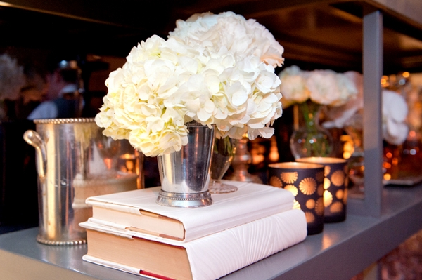 Flowers on books - Picture by Yvette Roman Photography