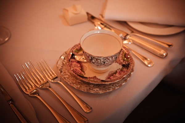 Vintage cup and saucer - Picture by Archibald Photography