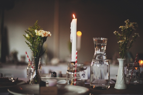 Candle wedding table display - Picture by Josh Dookhie Photography