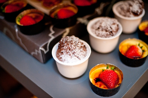 Mini creme brulee - Picture by Yvette Roman Photography
