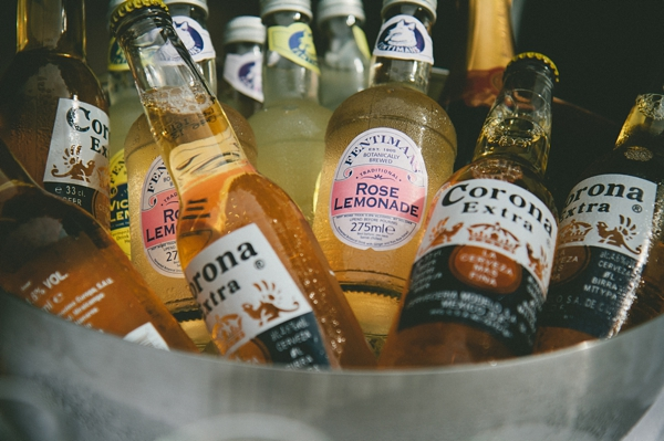 Bottles of Corona and Rose Lemonade - Picture by McKinley-Rodgers Photography