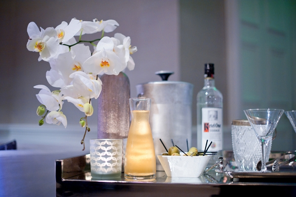 Martini table - Picture by Yvette Roman Photography