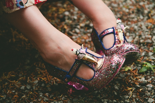 Sparkly shoes - Picture by McKinley-Rodgers Photography