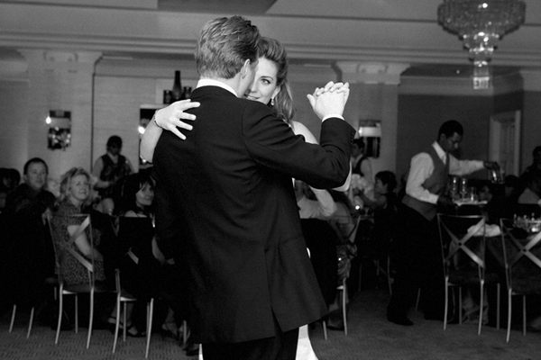 Bride and groom first wedding dance - Picture by Yvette Roman Photography