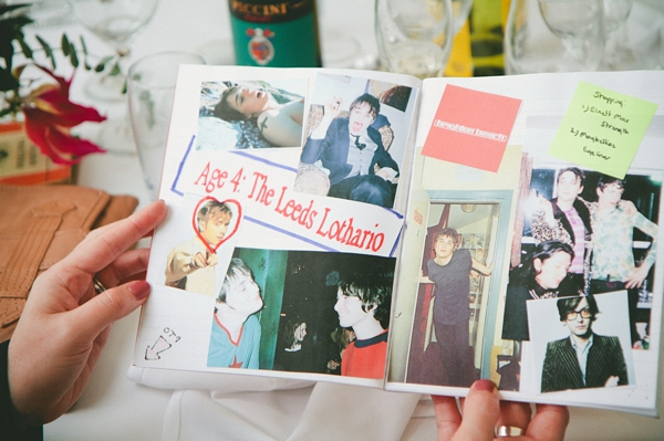 Book of pictures of groom - Picture by McKinley-Rodgers Photography