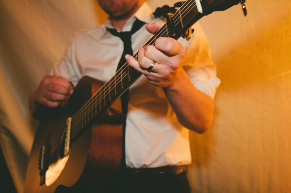 Guitar player at wedding - Picture by McKinley-Rodgers Photography
