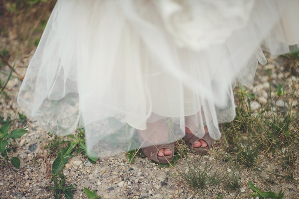 Bride's shoes - Picture by Josh Dookhie Photography
