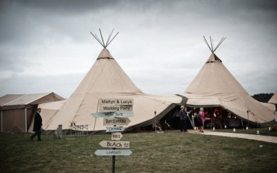 A Castle and Beach Tipi Wedding
