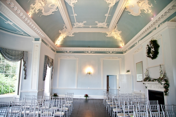 Wedding ceremony room at Somerford Hall - Picture by Anneli Marinovich Photography