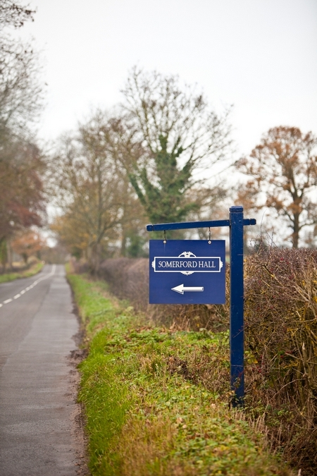 Somerford Hall sign - Picture by Anneli Marinovich Photography
