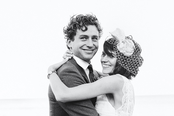 Bride and groom smiling - Picture by York Place Studios
